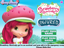 Strawberry Shortcake Injured