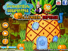 Sponge Bob Halloween Defense