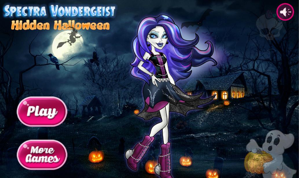 Spectra Vondergeist Halloween Hidden