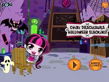 Chibi Dracula Halloween Slacking