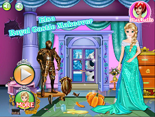 Elsa Royal Castle Makeover