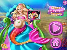 Pregnant Barbie Mermaid Emergency