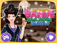 Pop Singer Barbie Halloween Dress Up