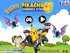 Pikachu Thunder Bolt Attack