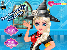 Elsa Halloween Makeover