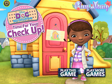 Doc McStuffins Dentist Check Up