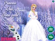 Princess Elsa Dress Code