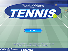 Yahoo Games: Tennis