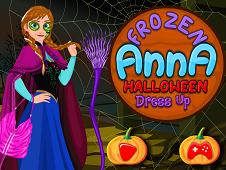 Frozen Anna Halloween Dressup