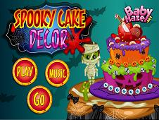 Spooky Cake Decor