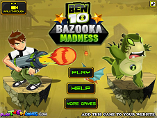 Ben 10 Madness Bazooka