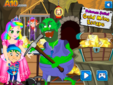 Princess Juliet Gold Mine Escape