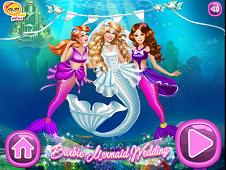 Barbie Mermaid Wedding
