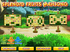 Splendid Fruits Mahjong