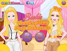 Barbie Thanksgiving Prep Makeover