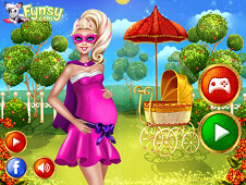 Super Barbie Baby Birth