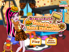 Draculaura Thanksgiving Total Makeove