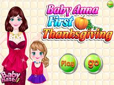 Baby Anna First Thanksgiving