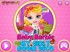 Baby Barbie My Girly Room Deco