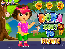 Dora Goes To Picnic