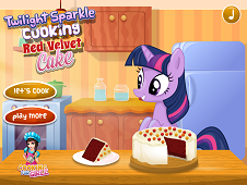 Twilight Sparkle Red Velvet Cake