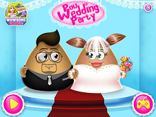 Pou Girl Wedding Party