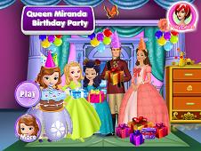 Queen Miranda Birthday Party