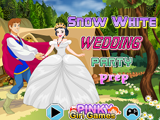 Snow White Wedding Party Prep
