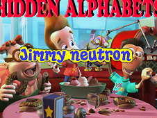 Hidden Alphabets Jimmy Neutron