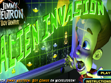 Jimmy Neutron Alien Invasion
