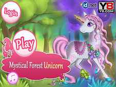 Mystical Forest Unicorn