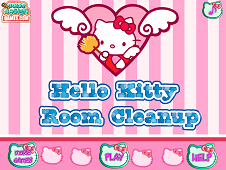 Hello Kitty Room Clean Up