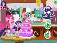 My Little Pony Cooking Cake