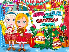 Elsa And Anna Babies Christmas Shoping