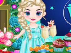 Baby Frozen Party Prepare