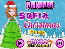 Princess Sofia Christmas Prep