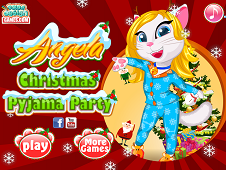Angela Christmas Pyjama Party