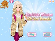 Barbie Winter Glitter Trends