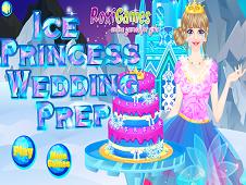 Ice Princess Wedding Prep