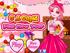 CA Cupid Pink New Year
