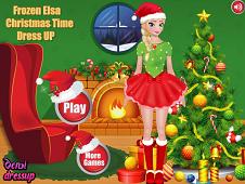 Frozen Elsa Christmas Dress Up