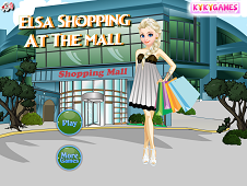 Elsa Shopping At The Mall