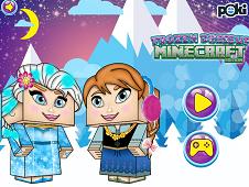 Frozen Dress Up Minecraft