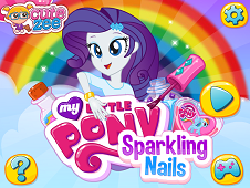 My Little Pony Sparkling Nails
