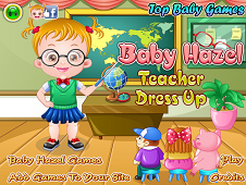 Baby Hazel Teacher Dressup