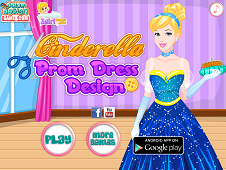 Cinderella Prom Dress Design