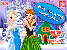 Elsa And Anna Sweet Shop