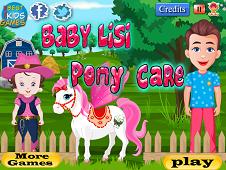 Baby Lisi Pony Care