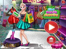 Elsa Real Life Shopping