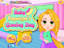 Baby Rapunzels Gaming Day